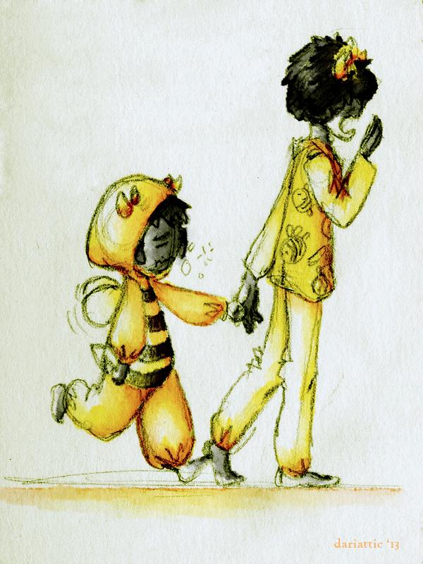 Bee Captor by dariattic