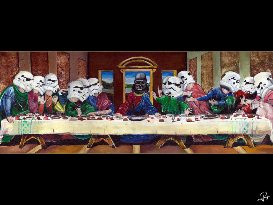 The Last Supper by Paigeharris