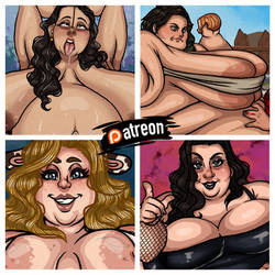 More and more bbw content! by luchoredman