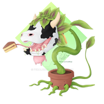 The Sims Cow Plant