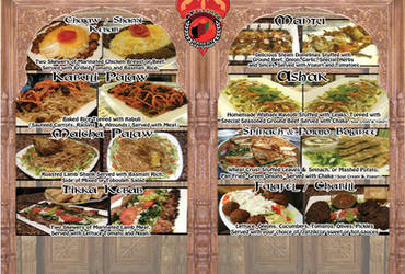 Menu Board by Muhummed
