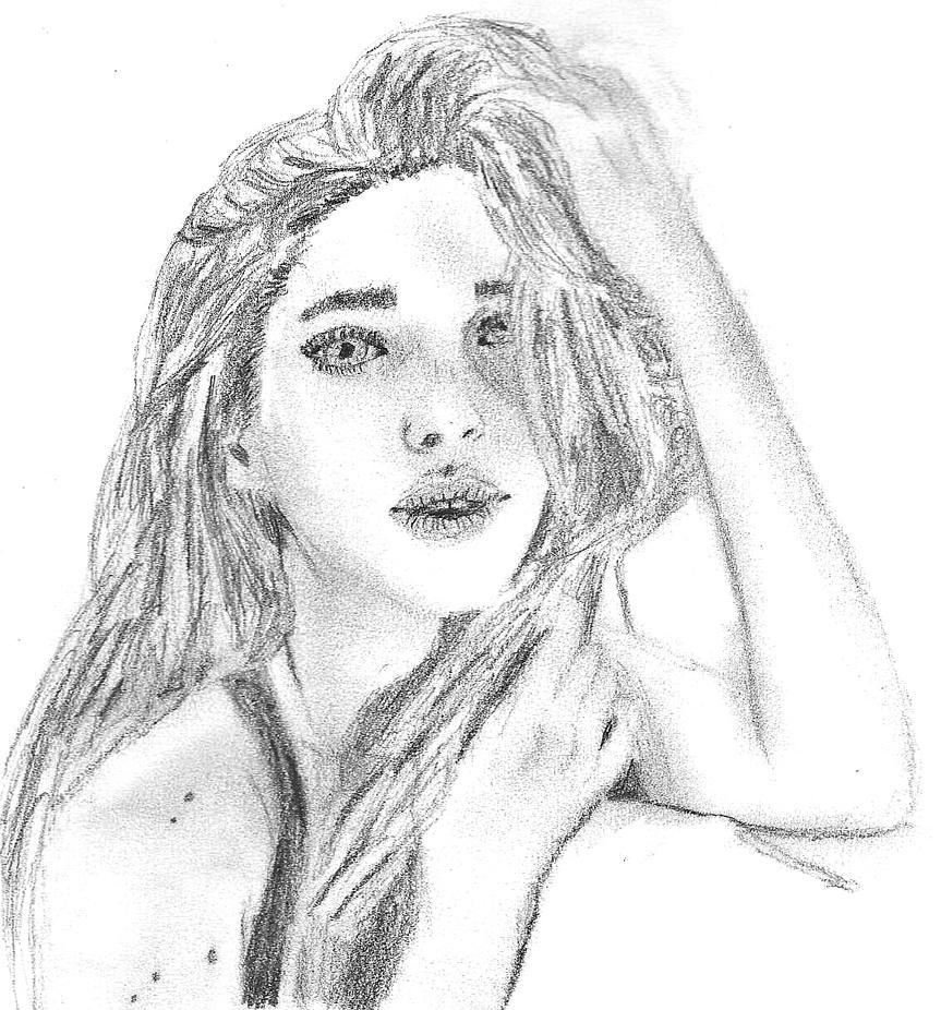 A portrait of a woman by earnestrosalia