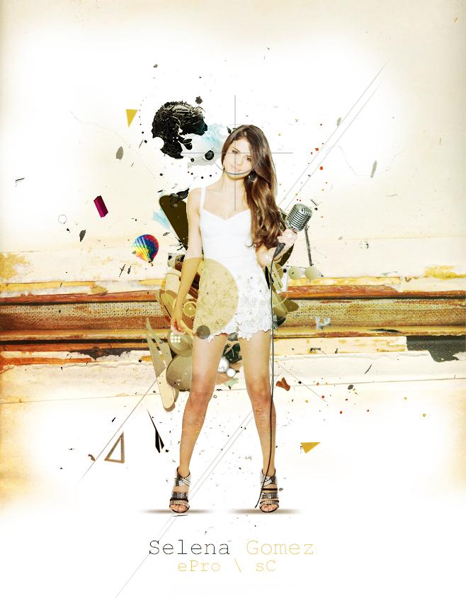 Selena Gomez | LARGE ART | ePro \ sC by epro-creative