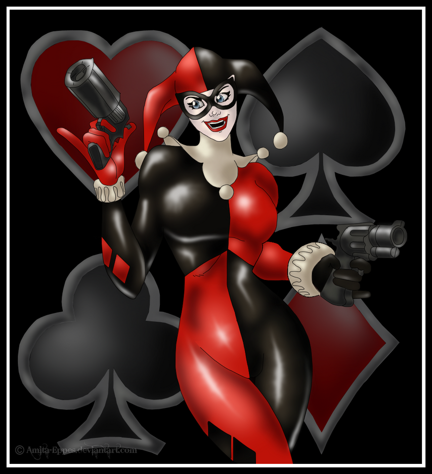 Harley Quinn by Amita-Eppes