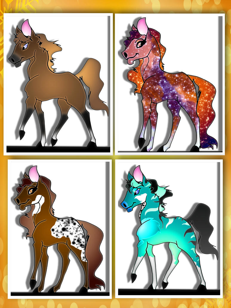 All sold by Adoptable-Horses-INC