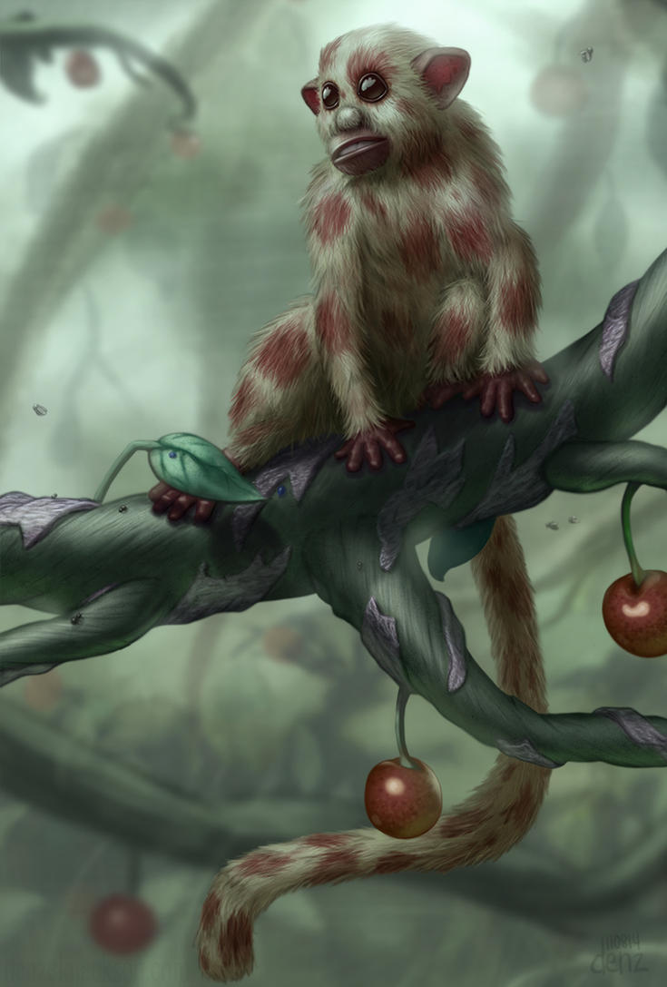 Cherry Monkey by DenzelAJackson
