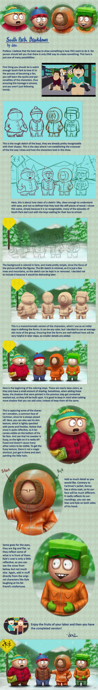 South Park Breakdown by DenzelAJackson