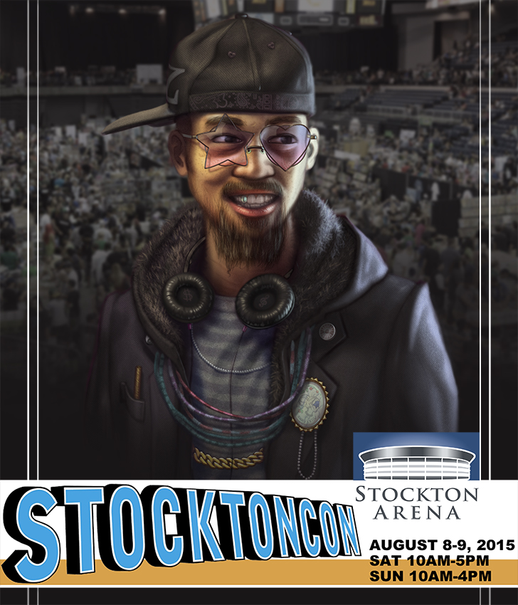 Stockton Con 2015 Flyer 1 by DenzelAJackson
