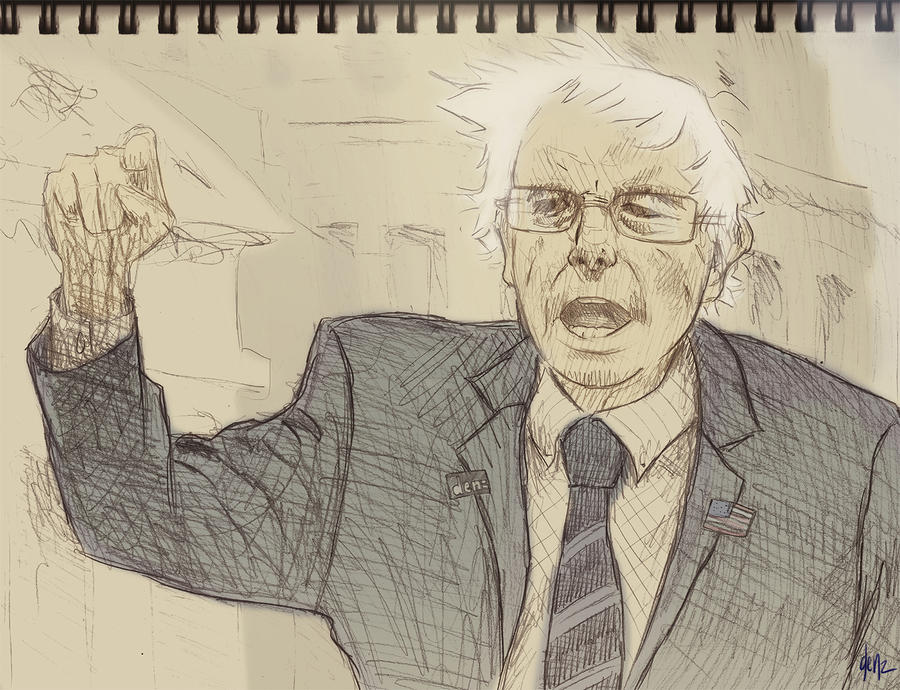 Bernie Sanders By DenzelAJackson On DeviantArt