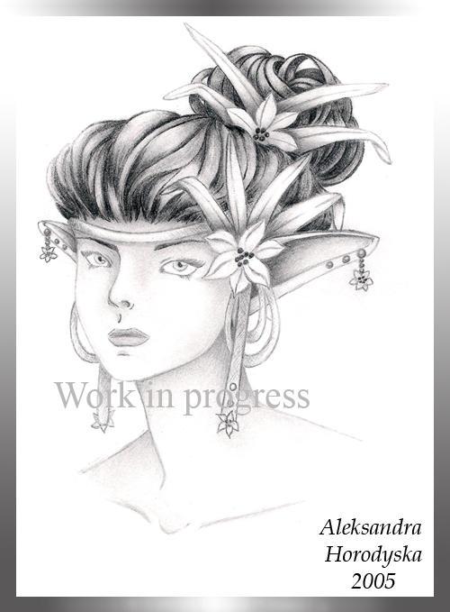 The Elfen Flower by Tygrys