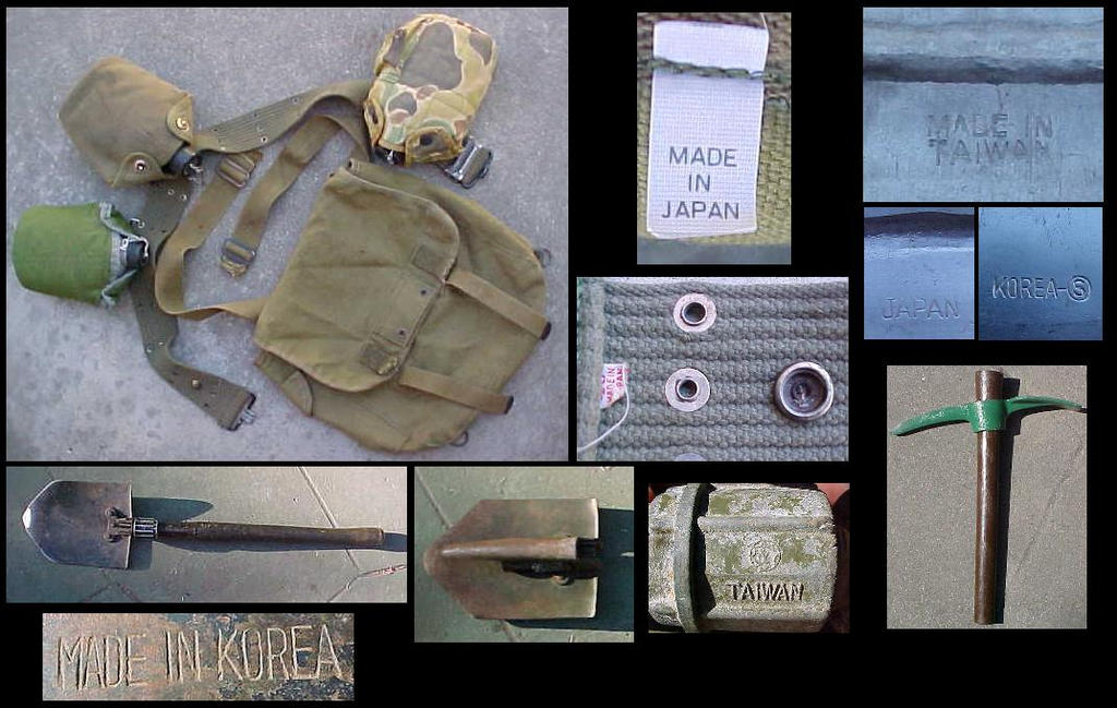 Fake WW2 US Camping Gear by nicholasweed on DeviantArt