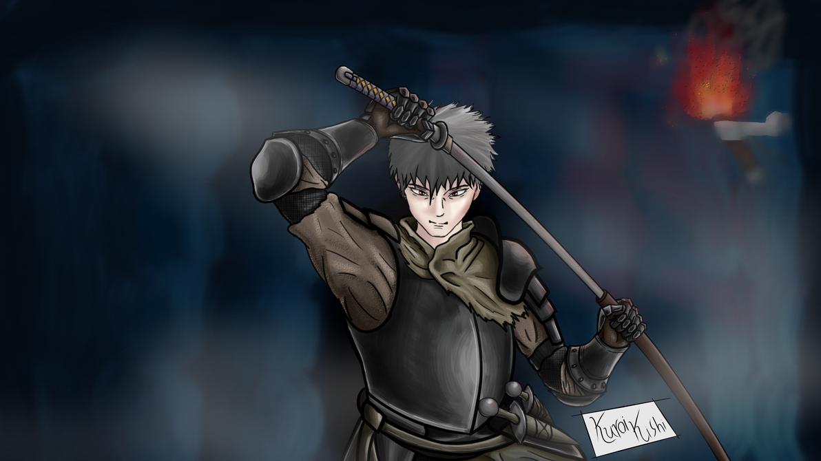 Kuroi Kishi on Dark Souls by Kijaty