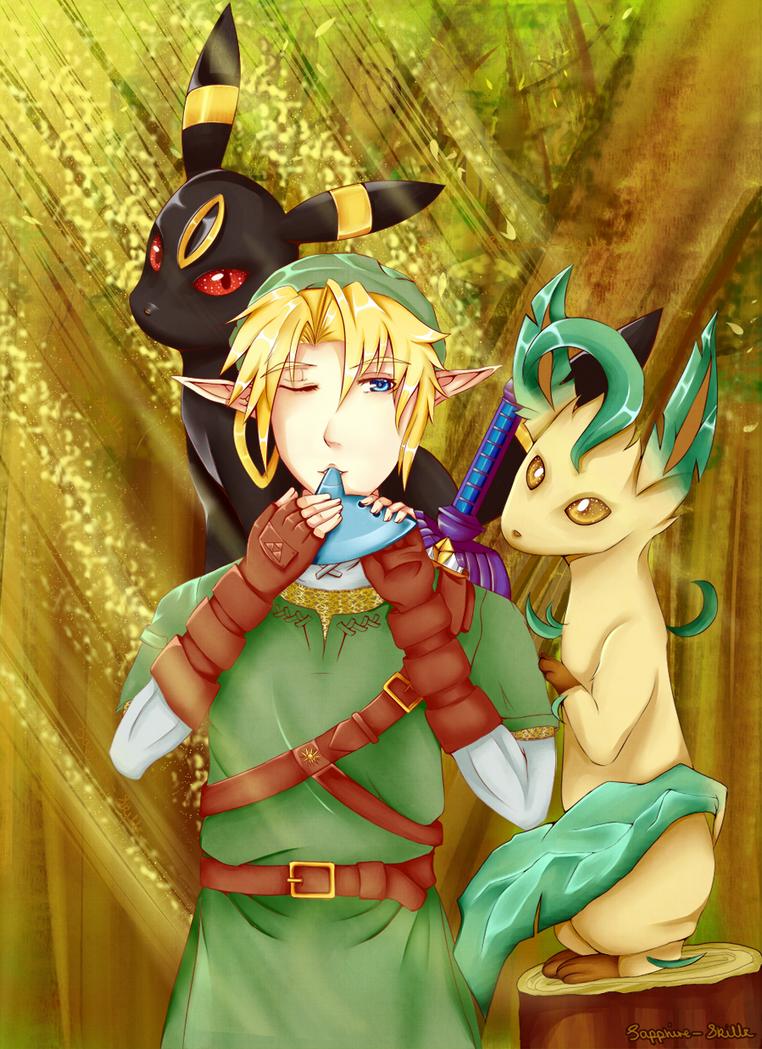 LoZ: Pokemon Piper by Sapphire-Skillz