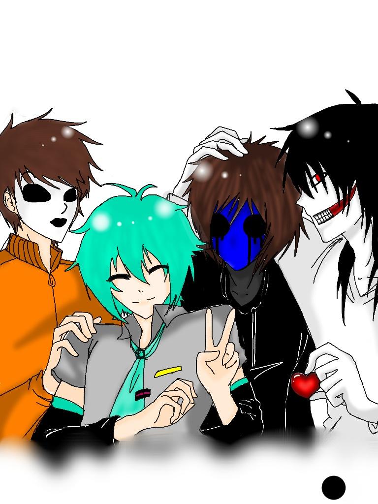 Eyeless Jack And Jeff The Killer And Masky | www.imgkid ...