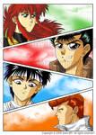 Yu Yu Hakusho Forever by Sano