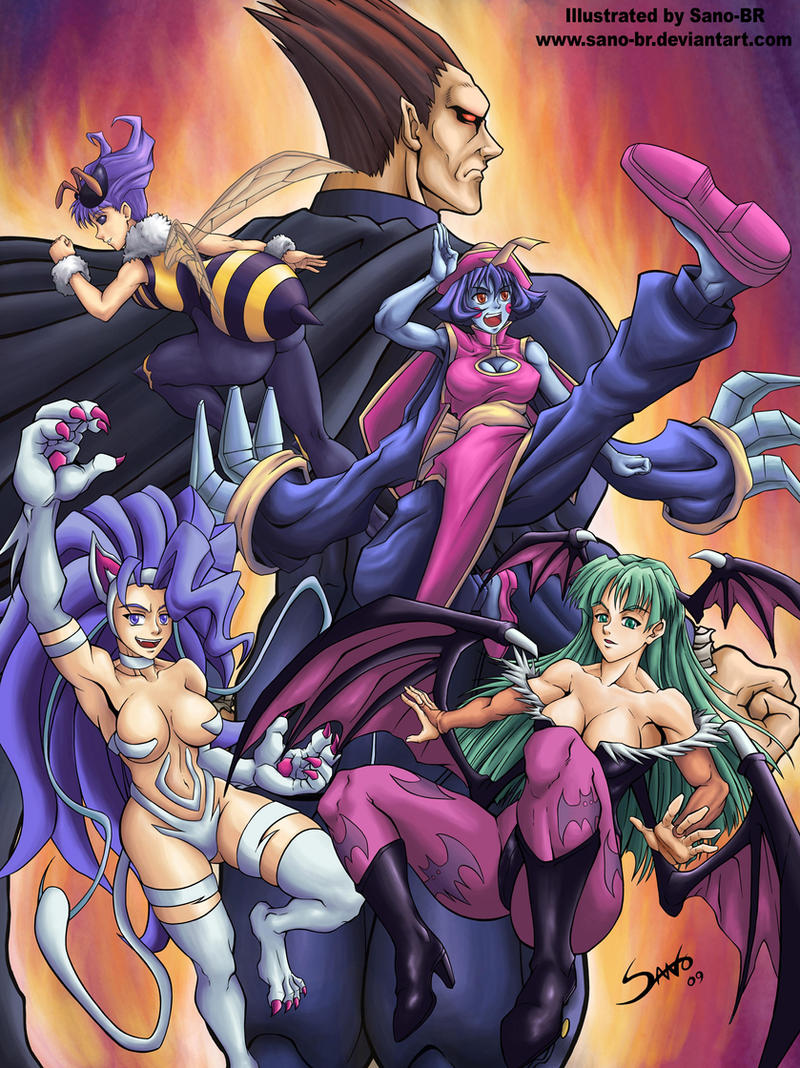 Darkstalkers Tribute by Sano by Sano-BR