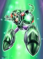 Snakeman _ Megaman by Sano-BR