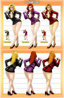 Dolls (Runark) Concept/Variations _ Commission by Sano-BR