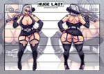 HUGE LADY - Concept (OC)