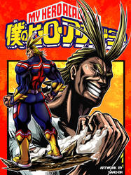 All Might (My Hero Academia) Fanart by Sano-BR