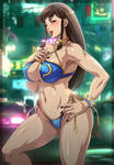 Chun-li _ Street Fighter V (Bikini version)