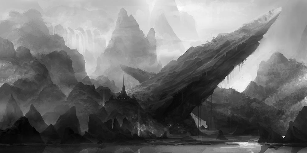 island rock by molybdenumgp03