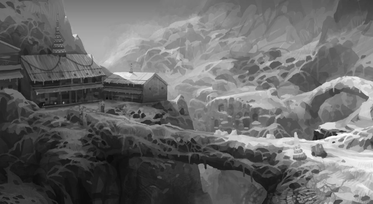 snow mountain palace