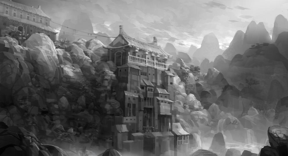 hidden temple by molybdenumgp03