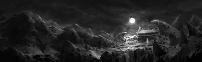 full moon by molybdenumgp03