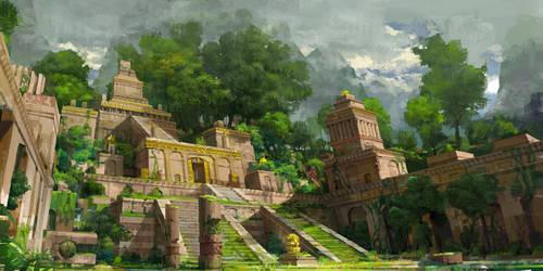 secret temple by molybdenumgp03