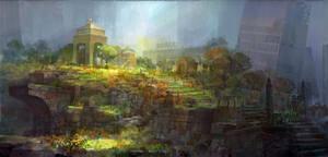 forgotten graveyard by molybdenumgp03
