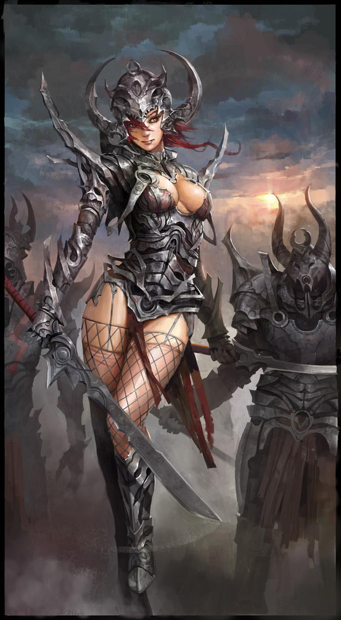 shiny armor