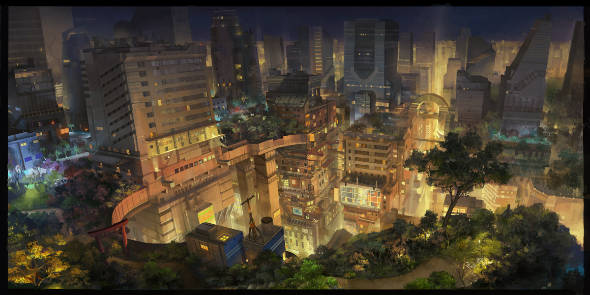 city night by molybdenumgp03
