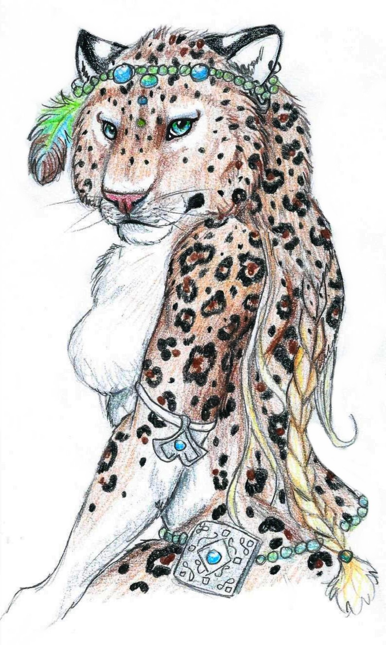 Anthro Leopard