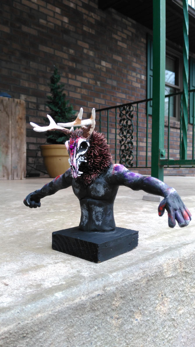 Nightmare Sculpture 2 by starwolf303