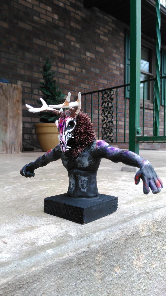 Nightmare Sculpture 2 by starwolf303
