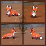 Mini Red Fox Figurine