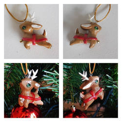Little Reindeer Ornament