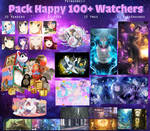   P A C K H A P P Y 100+W   - Pack#1