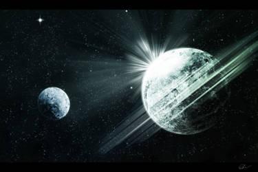 Deep Space by Wilku1000i1