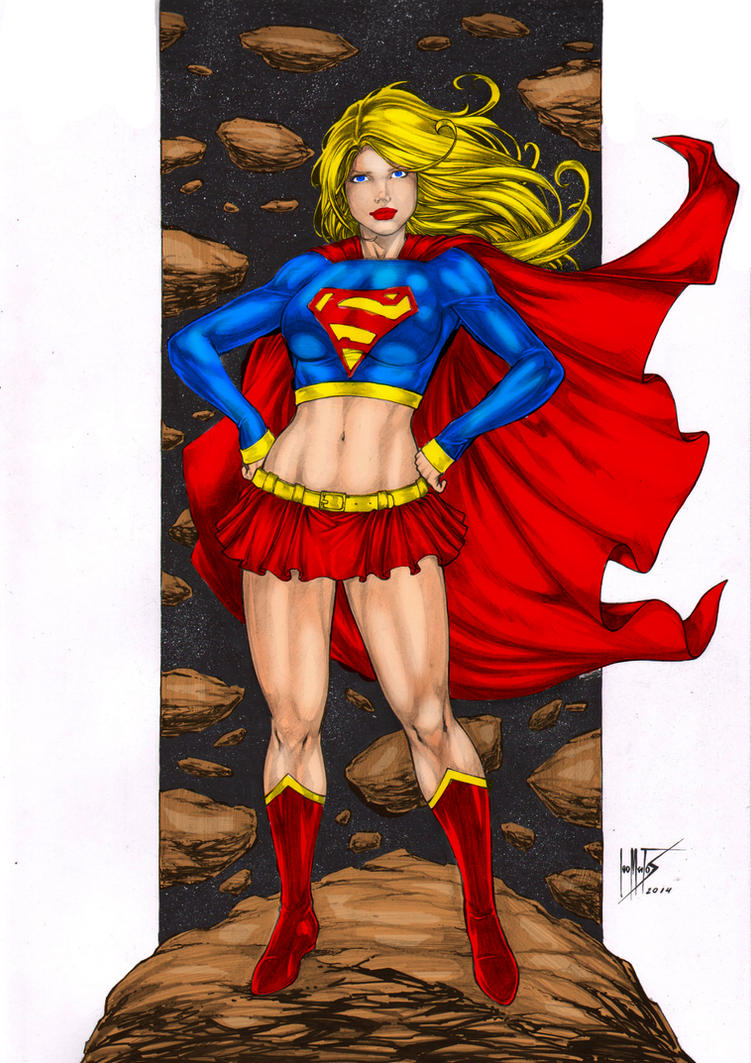 Supergirl - Coloring #19 by Donovan448