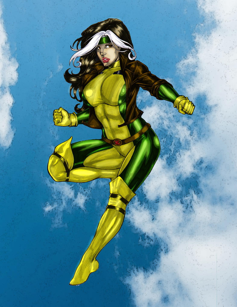 Rogue - Coloring # 21 by Donovan448