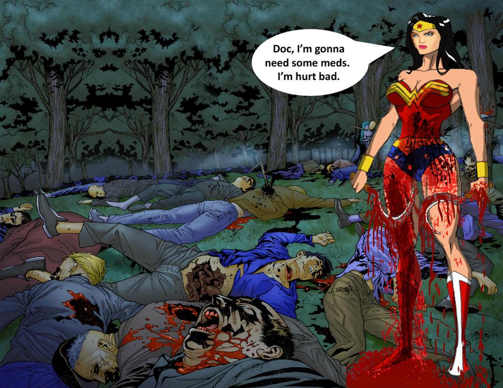 Wonder Woman - Comic Book Practice - Scene 1 by Donovan448