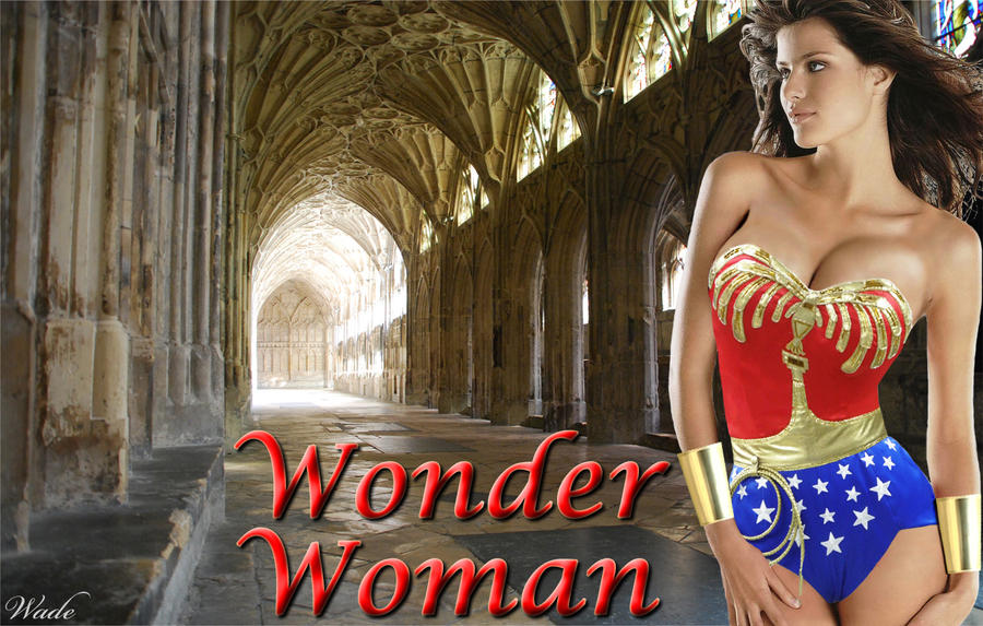 Wonder Woman - Photo Manipulation by Donovan448
