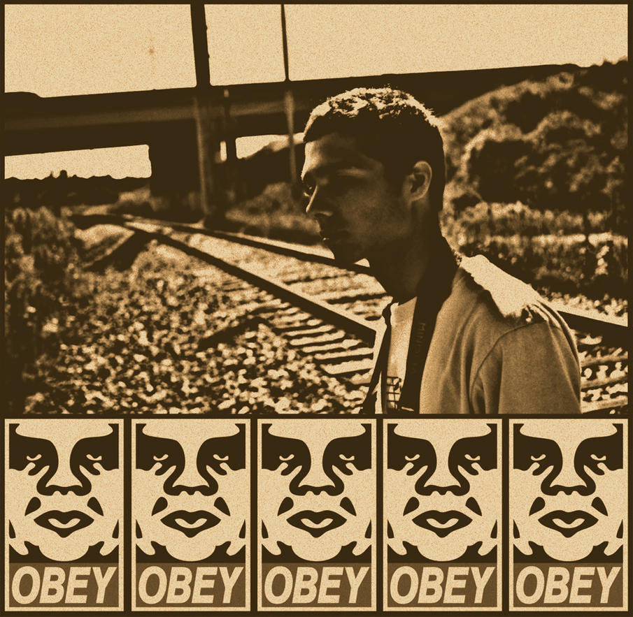 OBEY Vintage by LOVEnotWAR