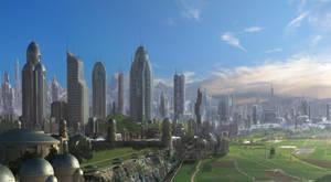 City of Coreing by Rahakasvi