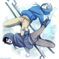 Jack Frost and Jack Nightmare by Breetroad