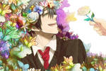 Himuro and Flowers
