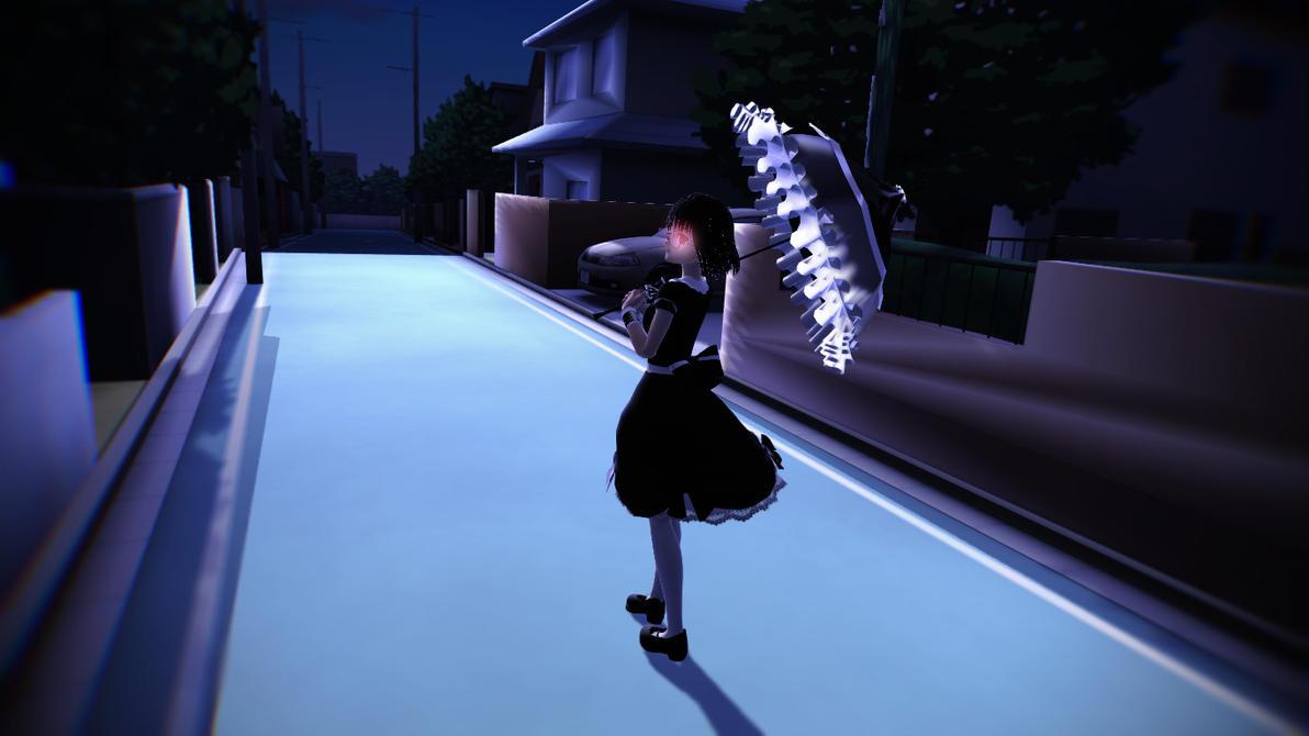 Walking at night +Video by Nene-megurine