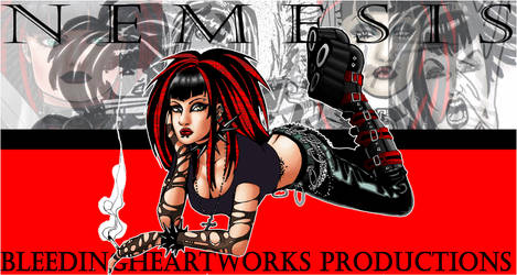 Nemesis Poster by BleedingHeartworks